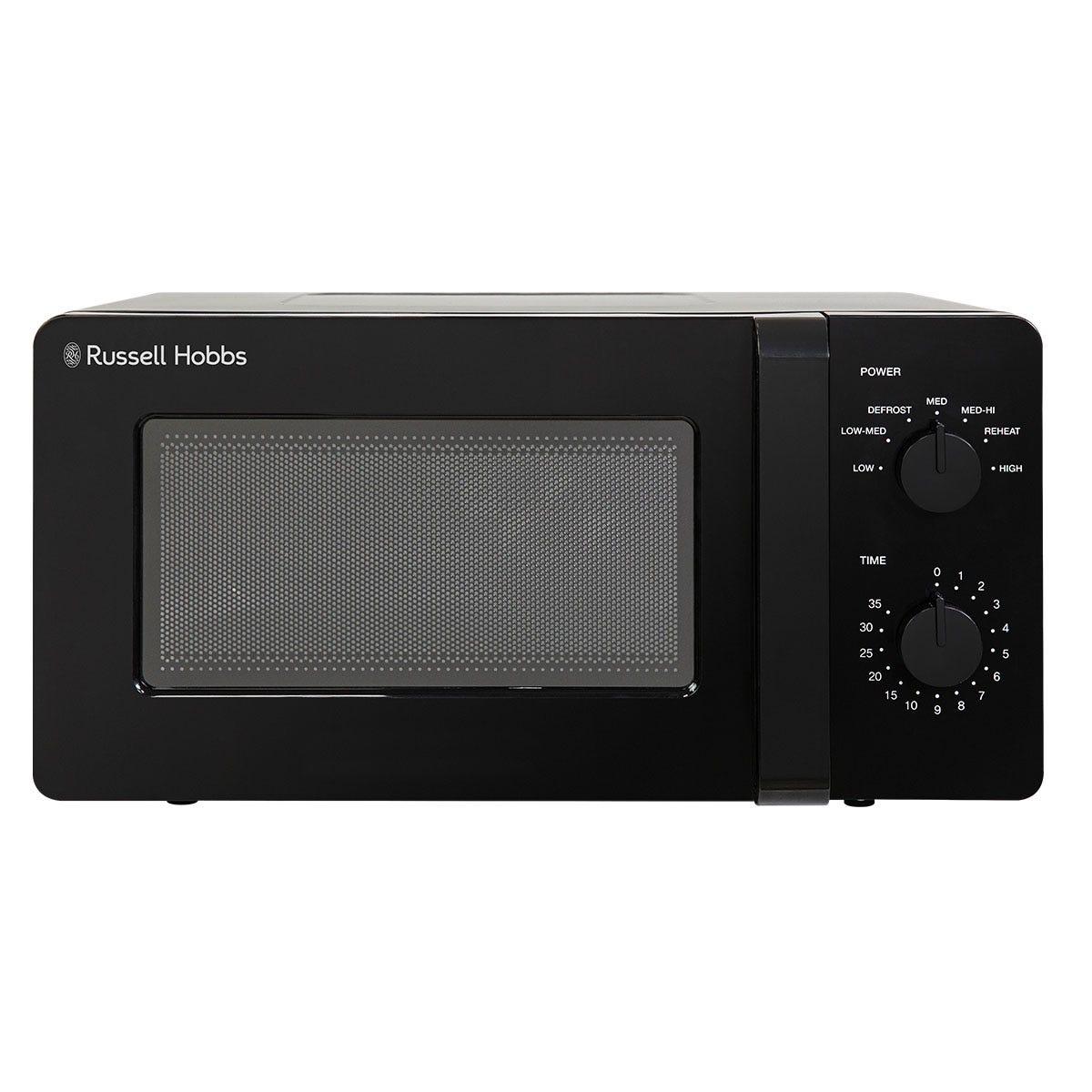 Russell Hobbs RHM1401B Ultra 14L 600W Manual Microwave - Black