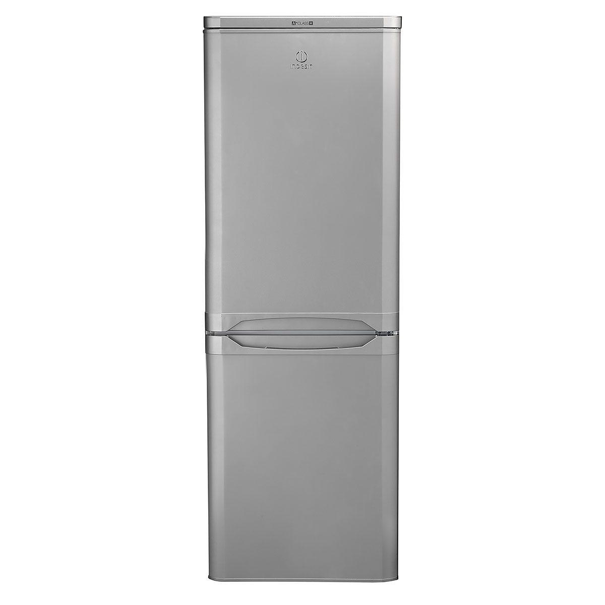 indesit ibd5515suk 153l 50/50 fridge freezer - silver