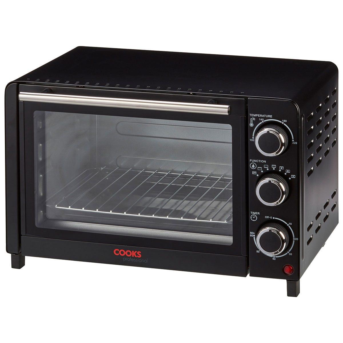 Cooks Professional 20L 1200W Mini Oven - Black