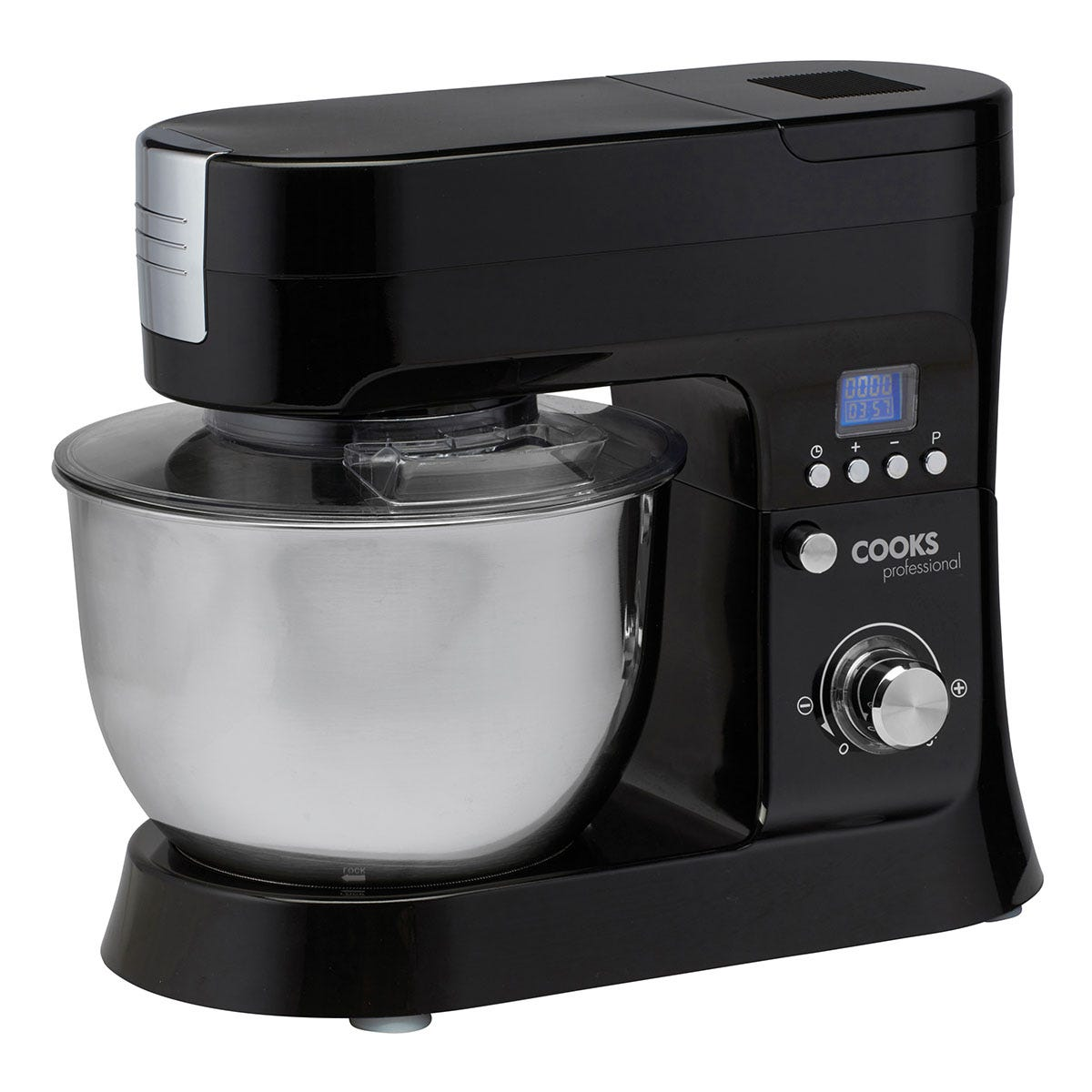 Cooks Professional G1186 1200W Stand Mixer - Black