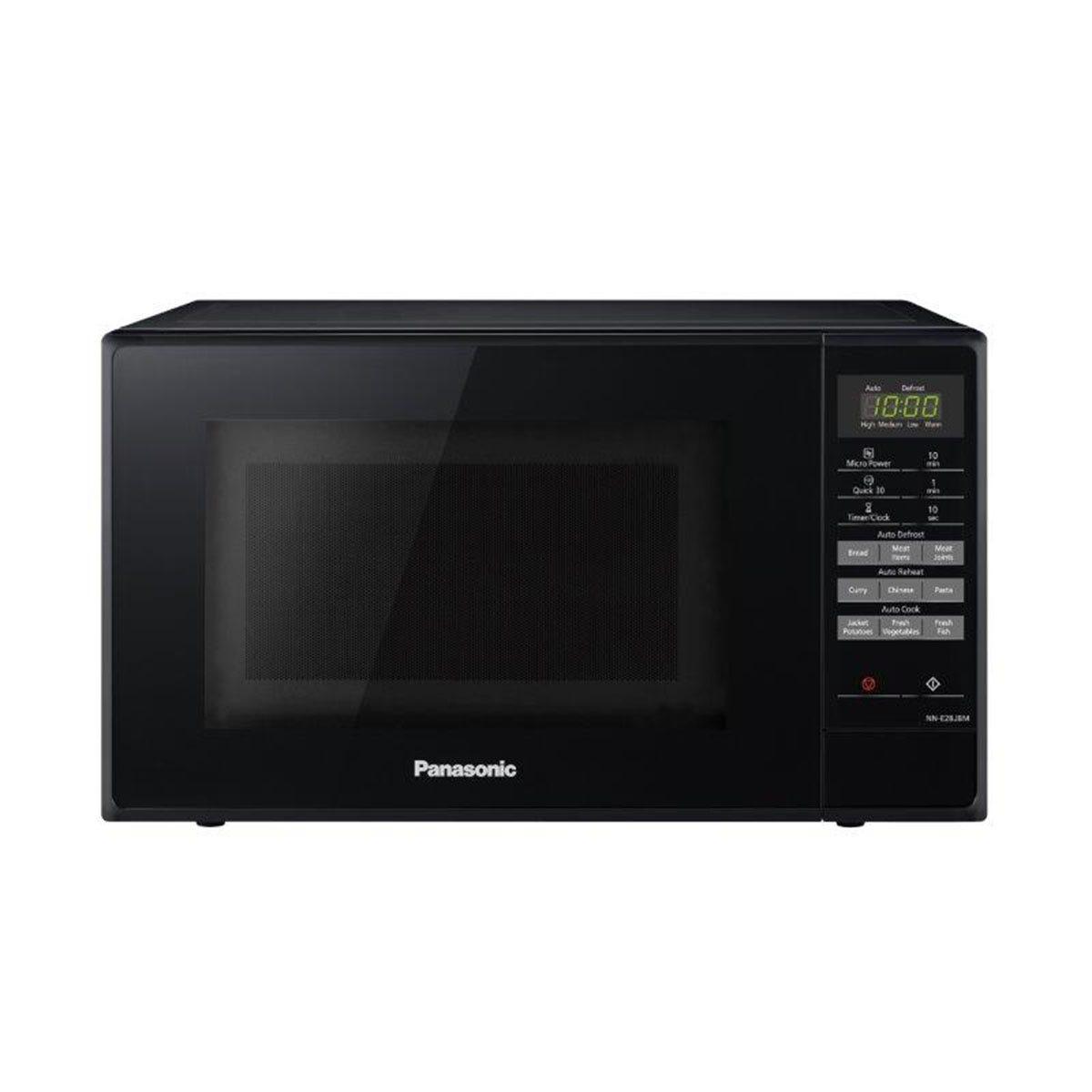 Panasonic NN-E28JBMBPQ 20L 800W Digital Microwave Oven - Black