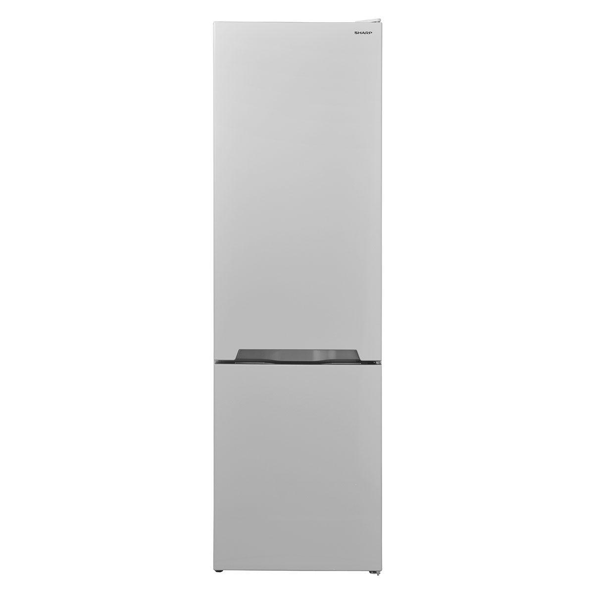 Sharp SJ-BB05DTXW1-EN FS Combi 70/30 Fridge Freezer with NanoFrost Technology - White