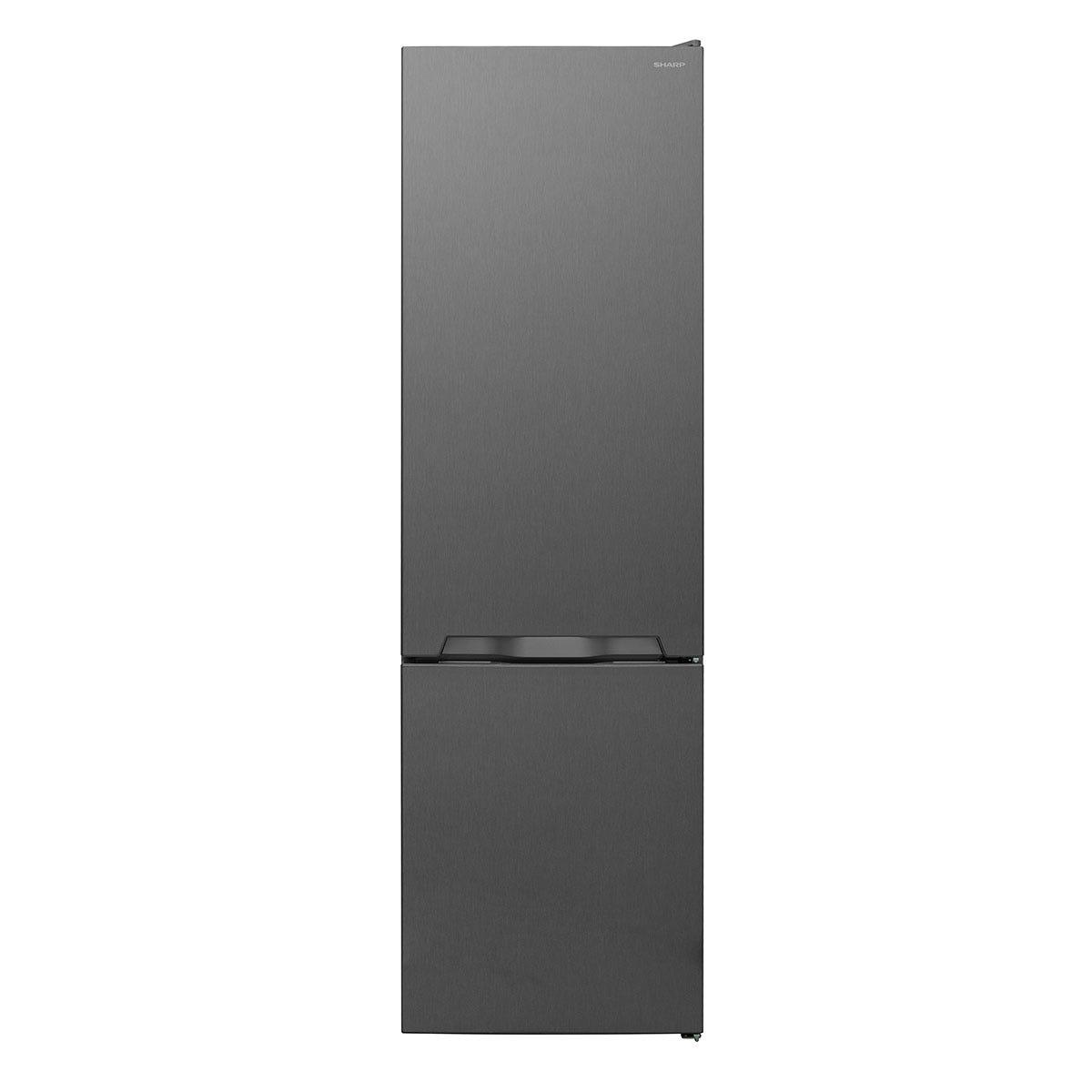 Sharp SJ-BB05DTXL1-EN FS Combi 70/30 Fridge Freezer with NanoFrost Technology - Linox