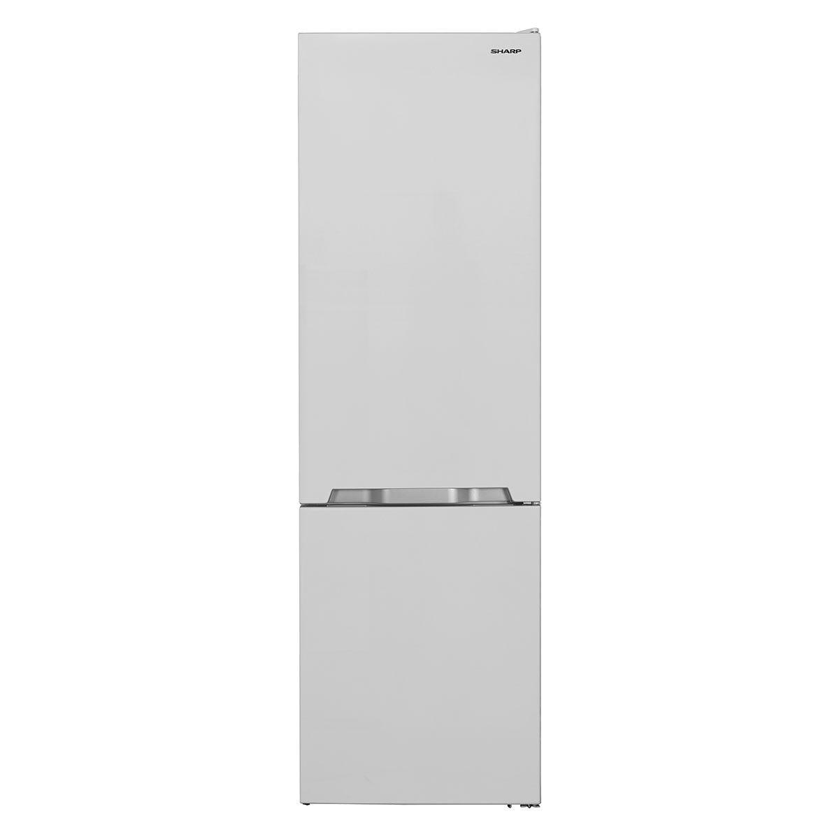 Sharp SJ-BB20IMXW1-EN FS 70/30 Combi Fridge Freezer with NanoFrost Technology - White