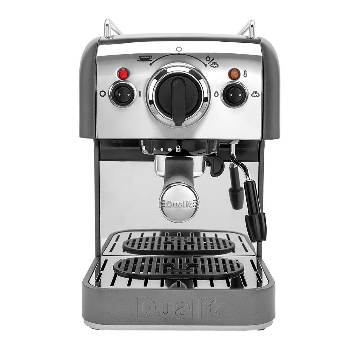 Dualit 84444 1250W 3-in-1 Coffee Machine - Grey