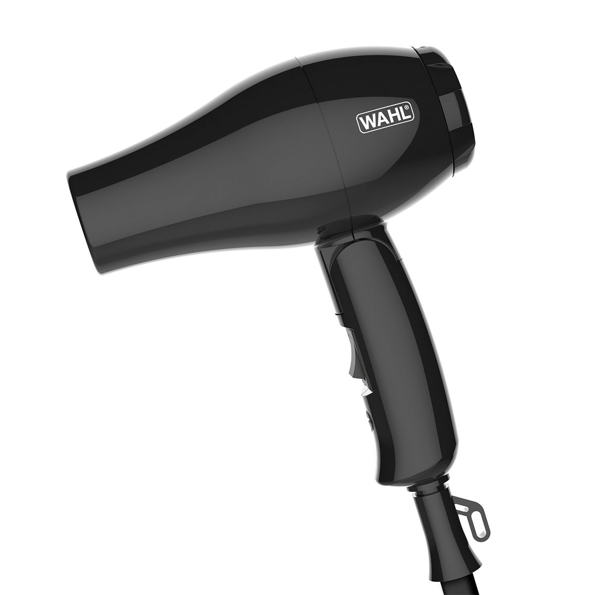 Wahl ZX982 1000W Travel Hairdryer and Diffuser - Black