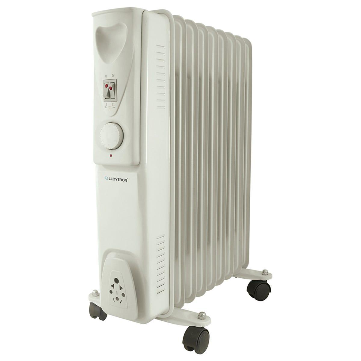 Lloytron Staywarm 2000w 9 Fin Oil Radiator