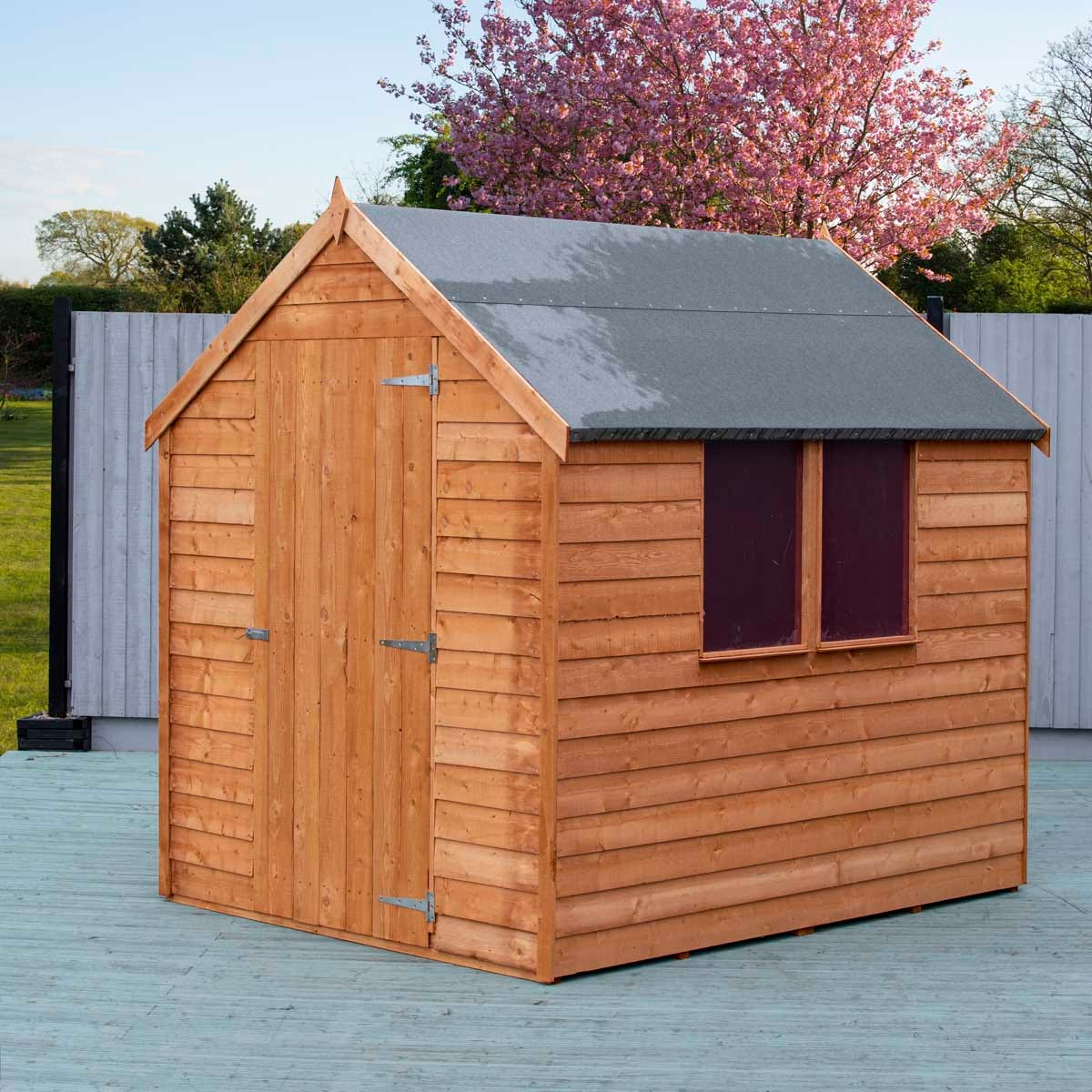 Shire Overlap 7' x 5' Value Shed with Window