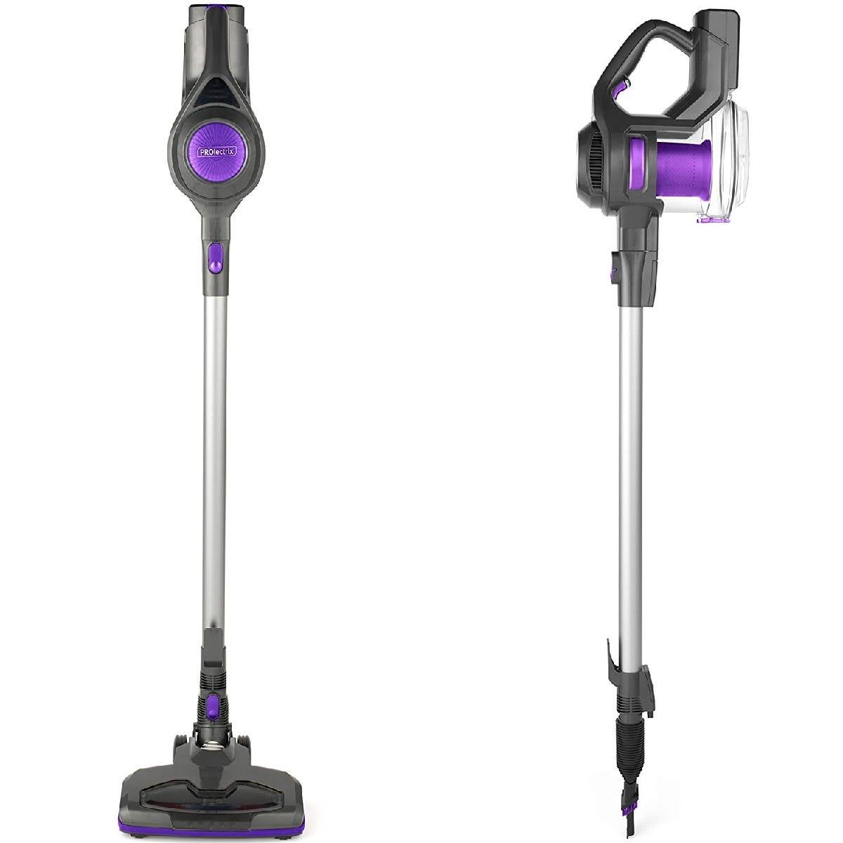 Prolectrix EF0776BGP 2 in 1 Cordless Pro 100W Vacuum Cleaner - Purple/Grey