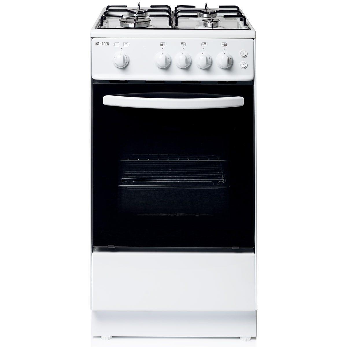 Haden HGS50W 50cm Freestanding Single Cavity Gas Cooker - White