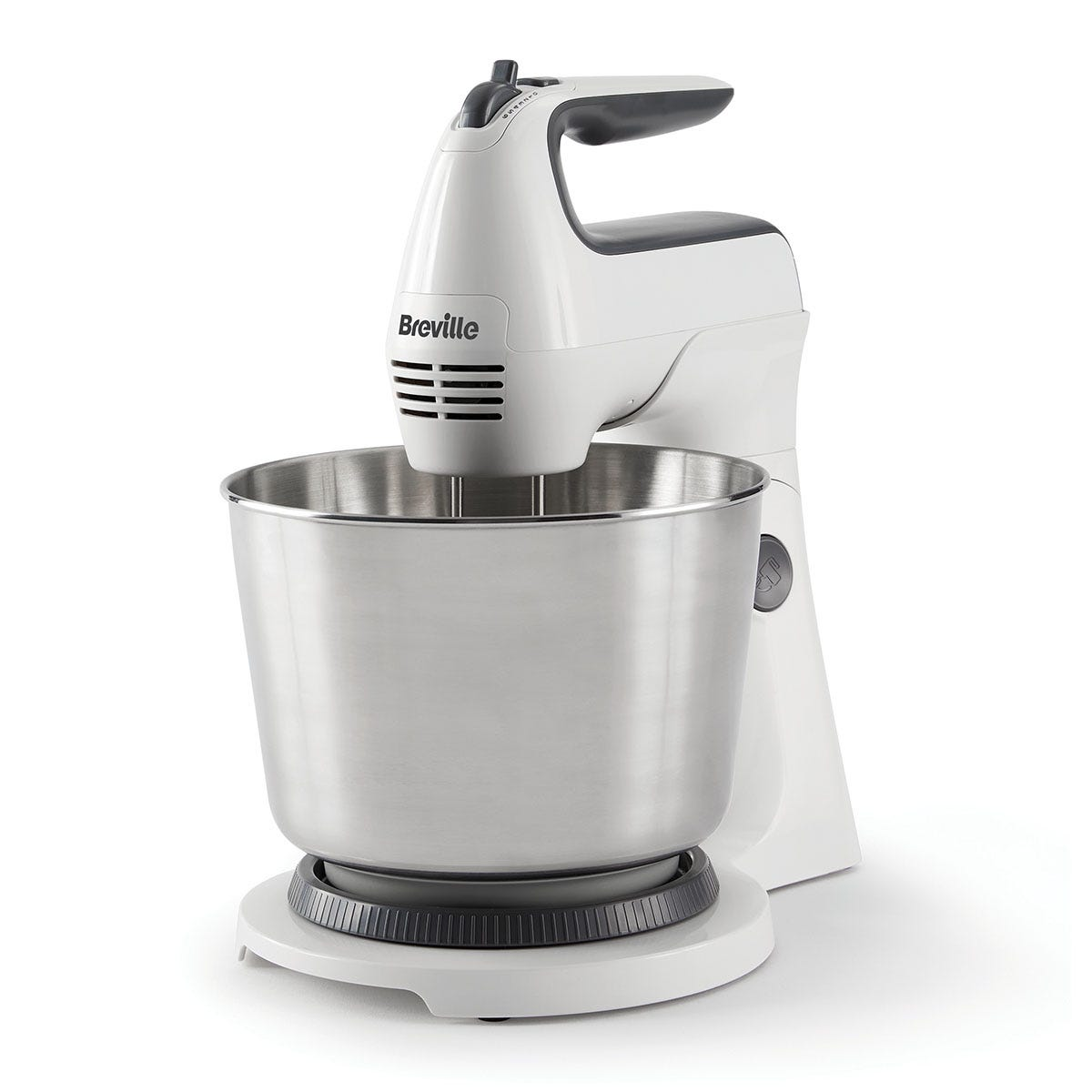 Breville VFM031 Classic Combo Stand and Hand 3.7L Mixer - White