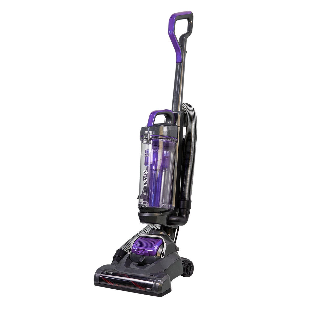 Russell Hobbs RHUV5601 700W Athena2 2L Pets Upright Vacuum Cleaner - Spectrum Grey and Purple
