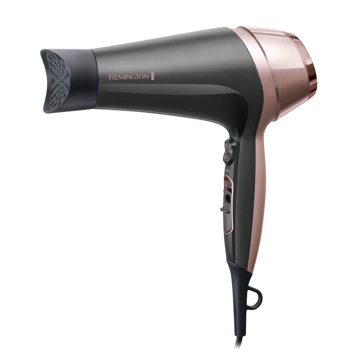 Remington D5706 2200W Curl & Straight Confidence Hair Dryer - Grey & Pink