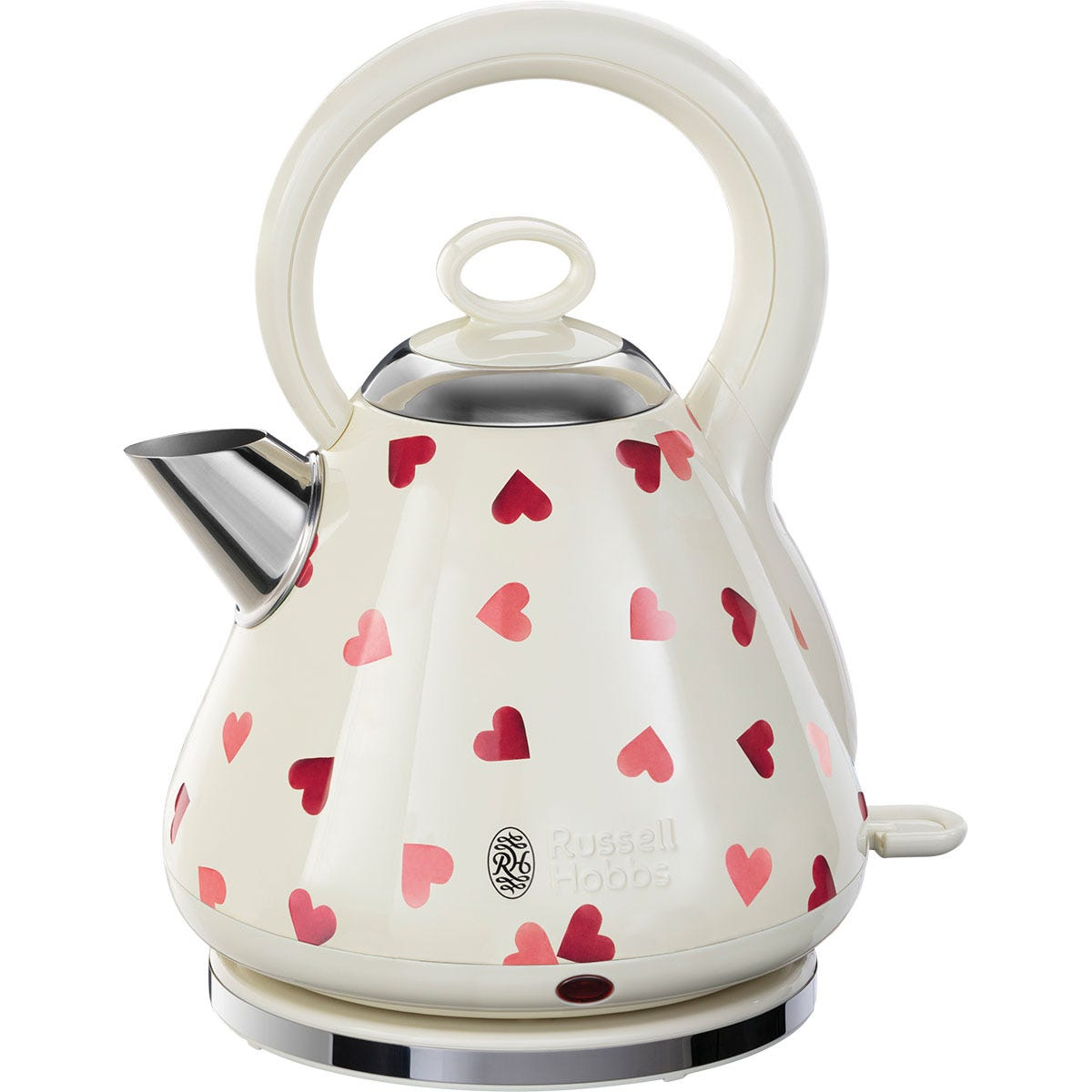 Russell Hobbs 28330 Emma Bridgewater Pink Hearts 1.7L Kettle - Cream and Pink