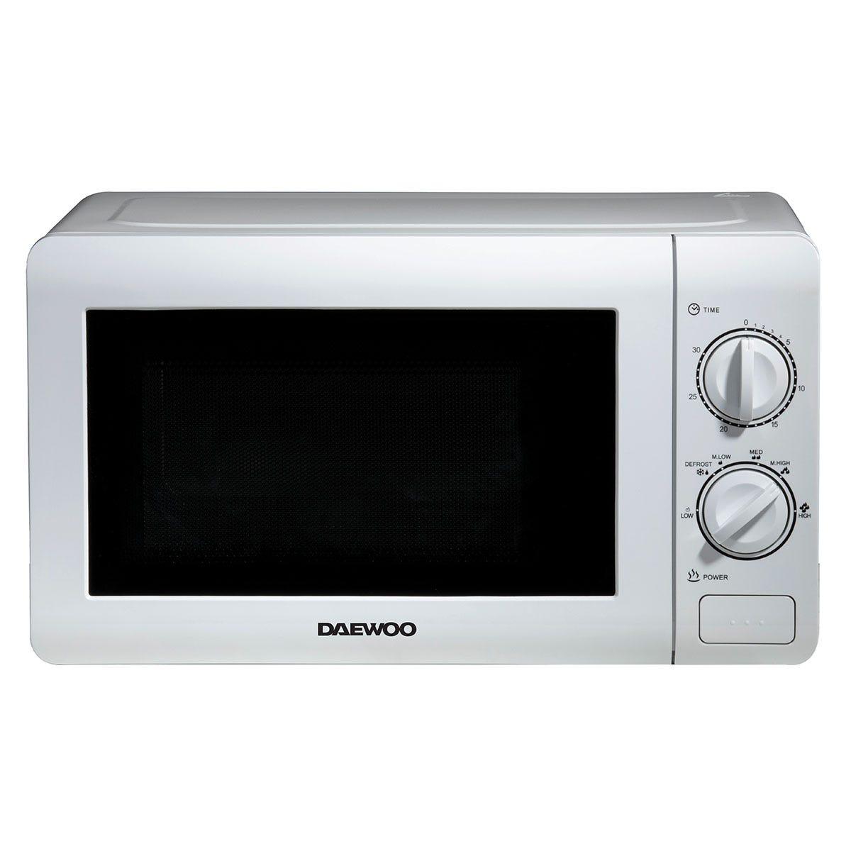 Daewoo SDA2075GE 20L 800W Manual Microwave - White