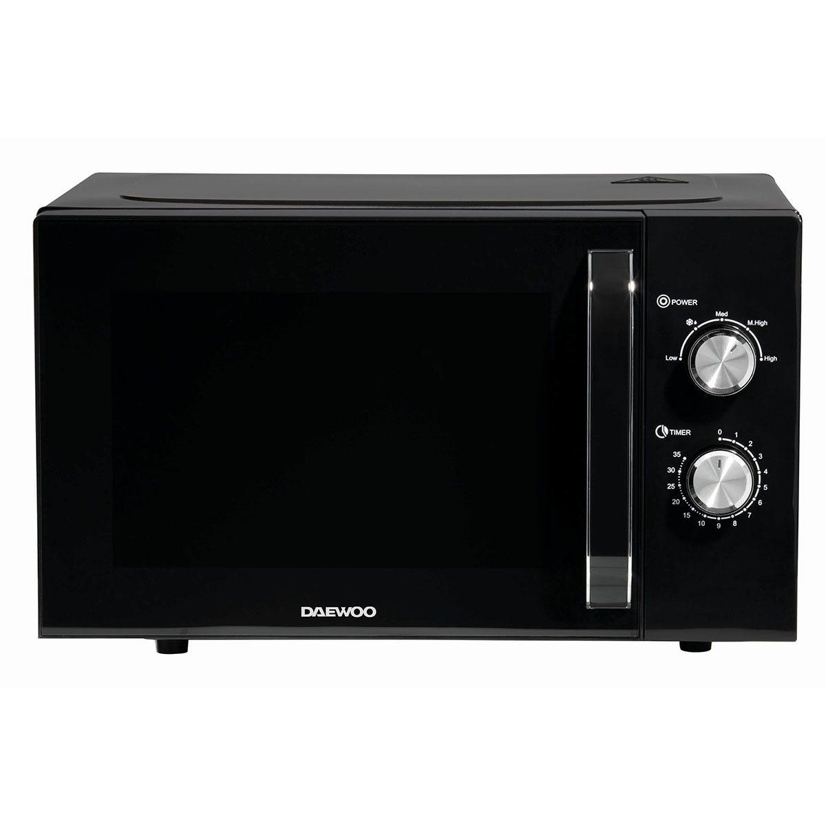 Daewoo SDA2085GE 23L 800W Manual Microwave - Black