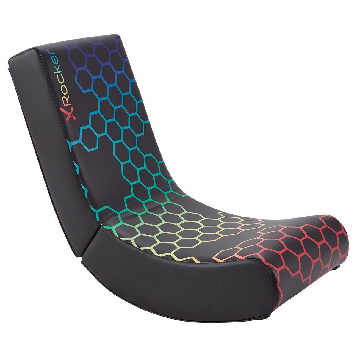 X Rocker X-Rocker Video Rocker Foldable Gaming Chair - RGB Neo Hex