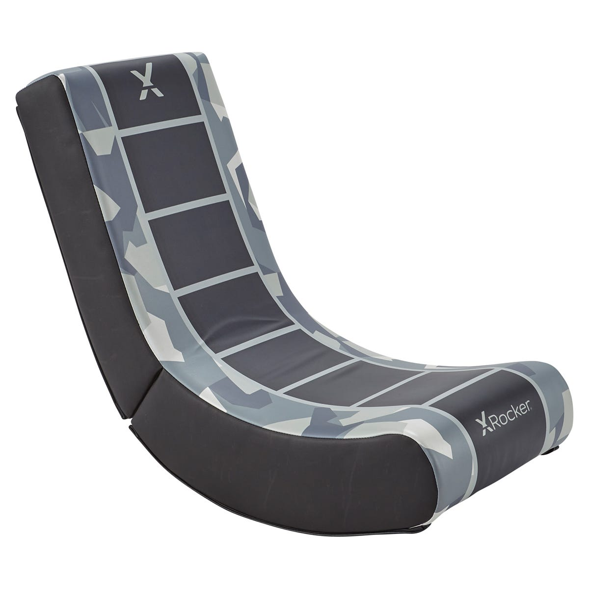 X Rocker X-Rocker Video Rocker Foldable Gaming Chair - Camo Grey