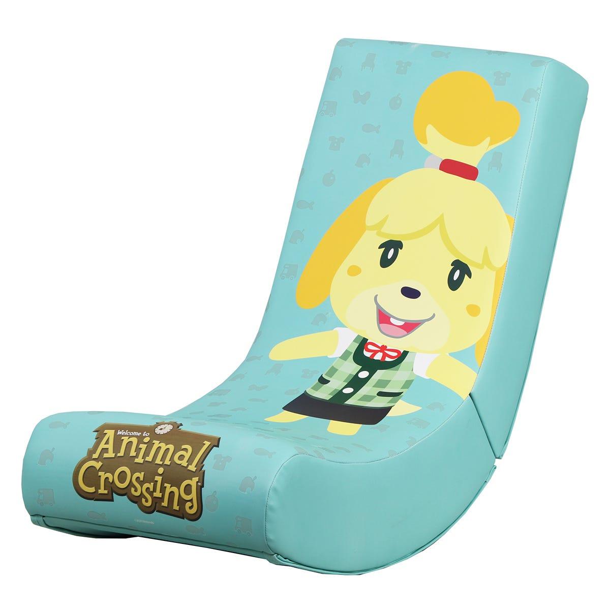 X Rocker X-Rocker Nintendo Video Rocker Foldable Gaming Chair - Animal Crossing Isabelle