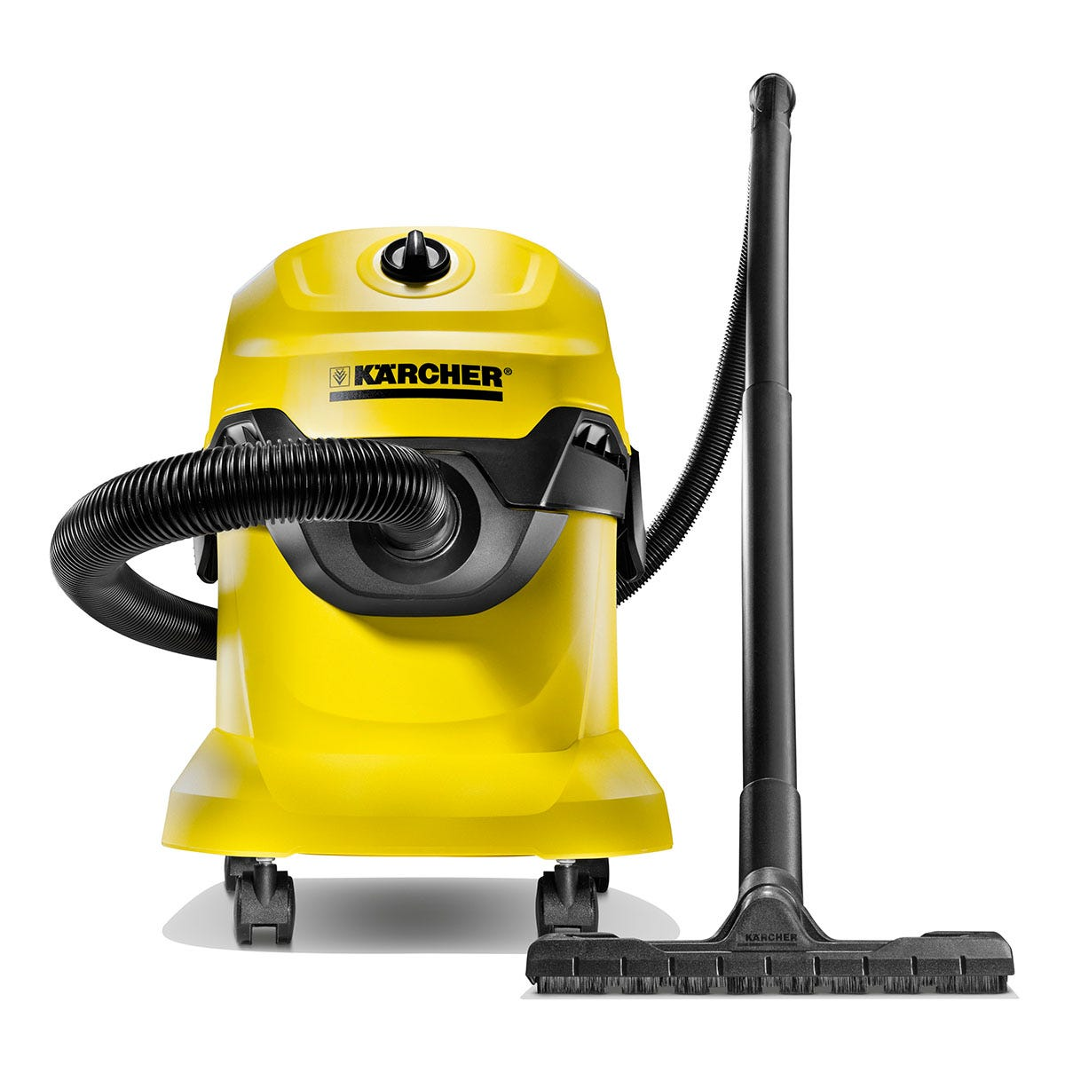 Karcher 13481190 WD 4 Wet and Dry Vacuum Cleaner - Yellow and Black