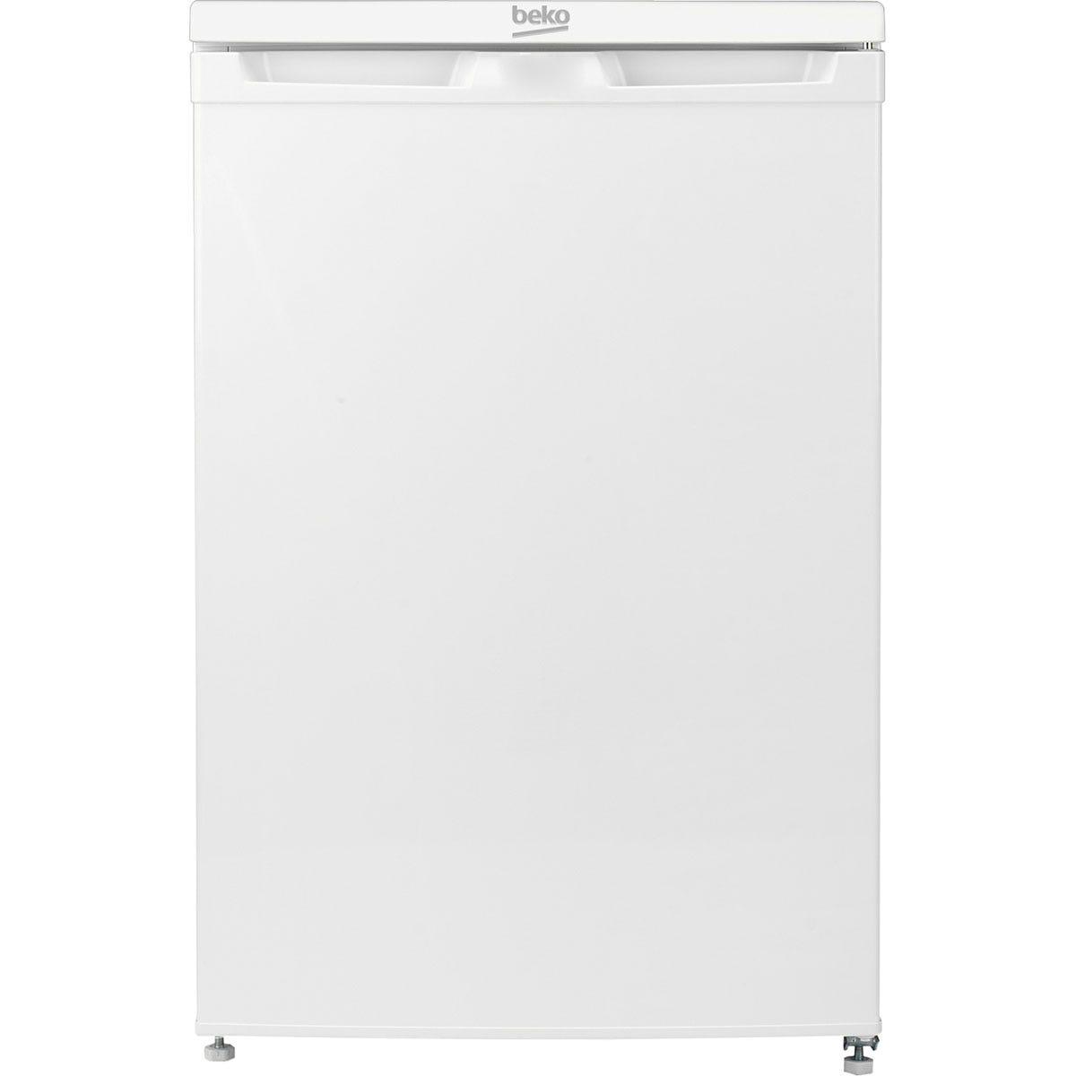 Beko UFF584APW Freestanding Frost-Free 75L Under Counter Freezer - White