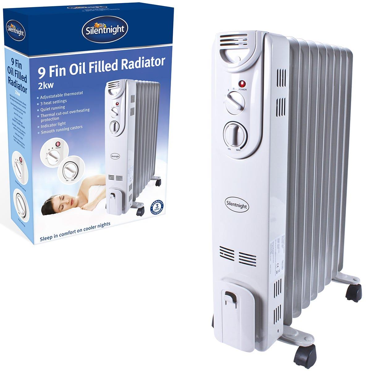 SilentNight 9Fin Oil Radiator