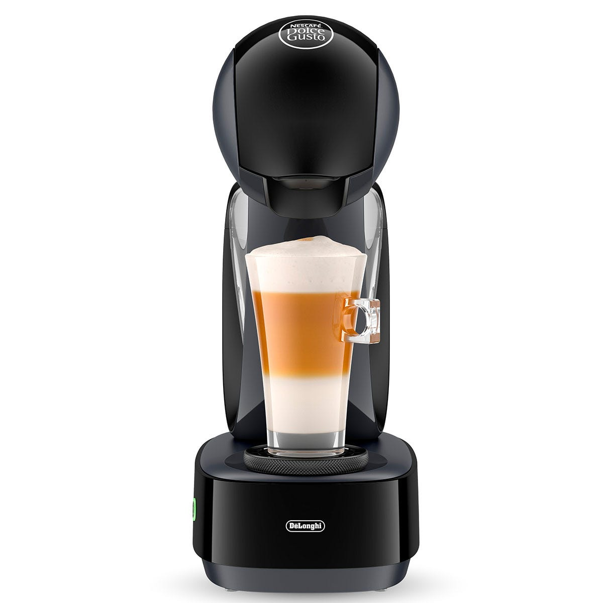 Delonghi EDG160A Dolce Gusto Infinissima Coffee Pod Machine - Black & Grey