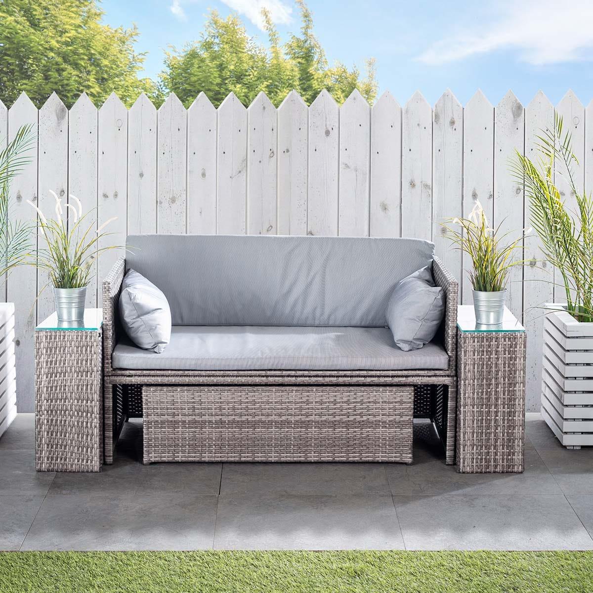 Monaco Modular Double Sofa Set
