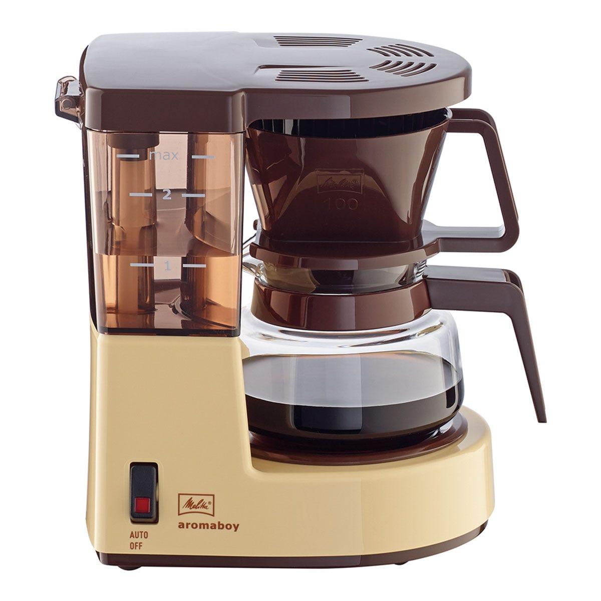 Melitta 6707231 Aromaboy 500W Filter Coffee Machine - Beige