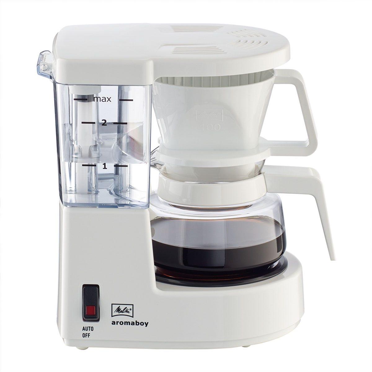 Melitta 6707248 Aromaboy 500W Filter Coffee Machine - White