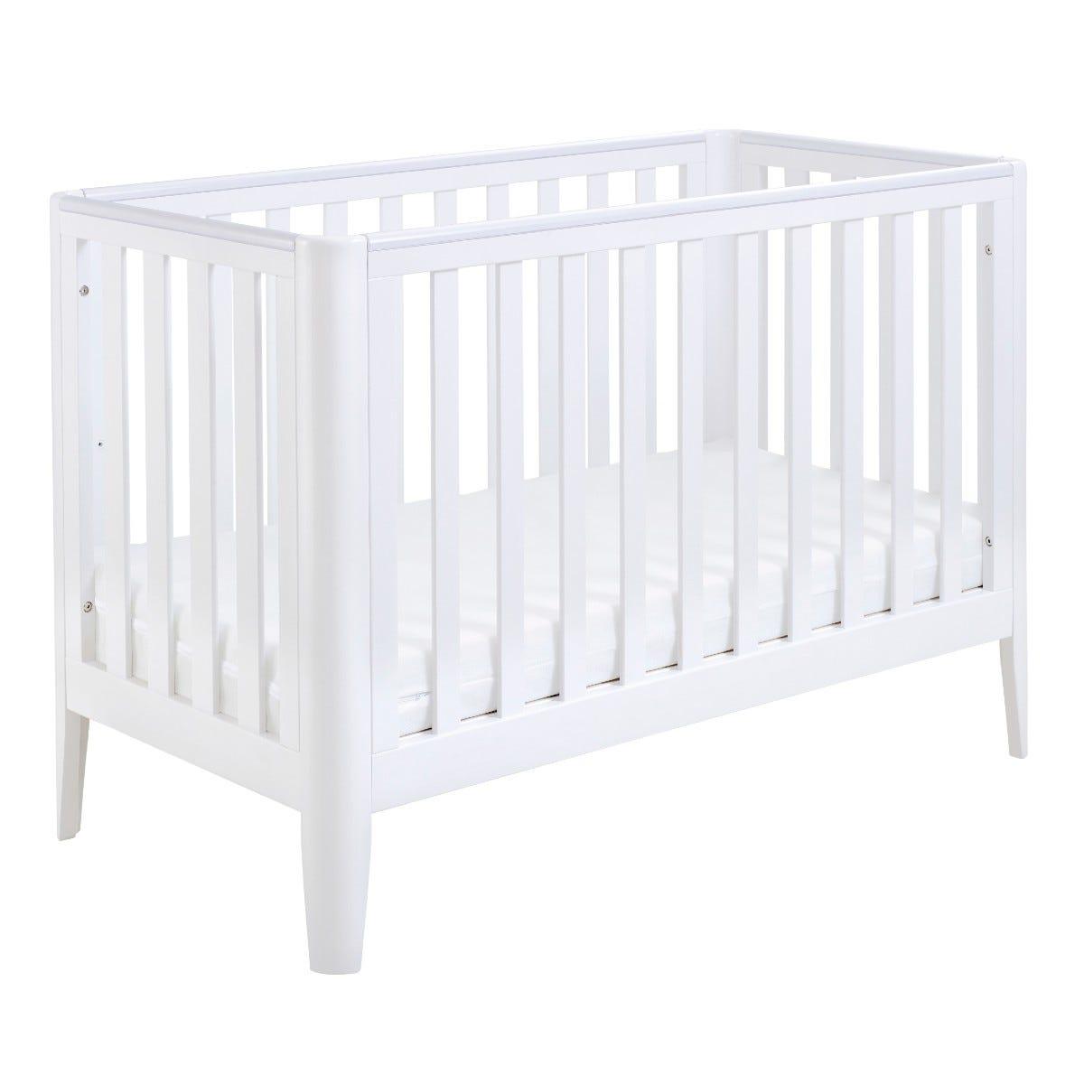 Babymore Iris Cot Bed White