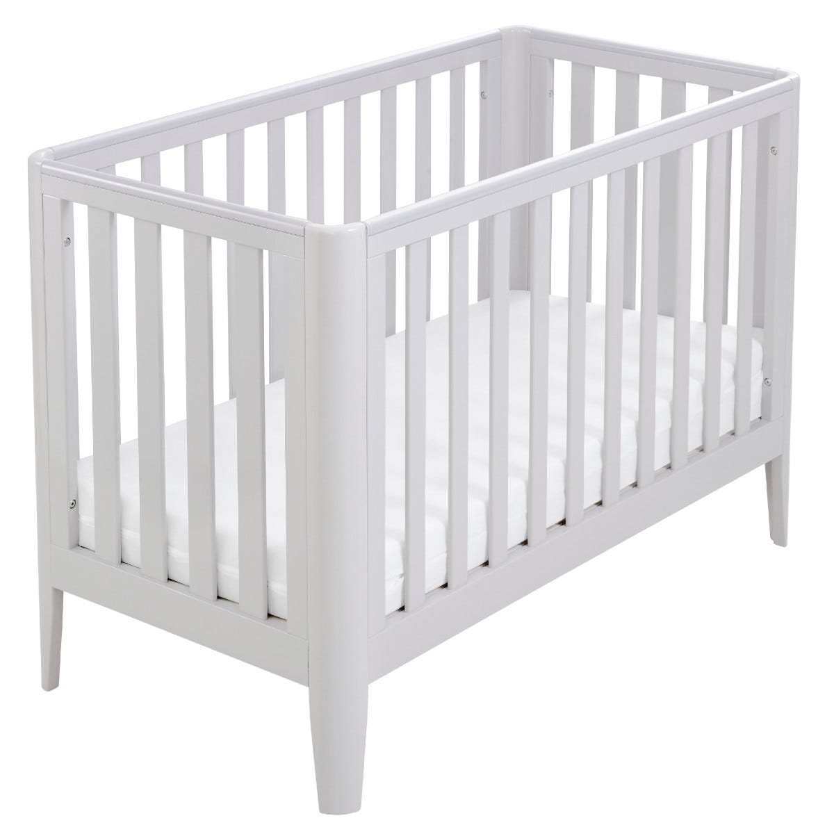 Babymore Iris Cot Bed Grey