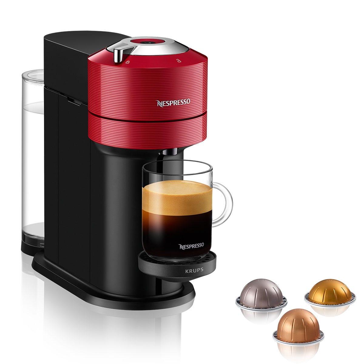 Nespresso Vertuo Krups XN910540 Coffee Machine - Red