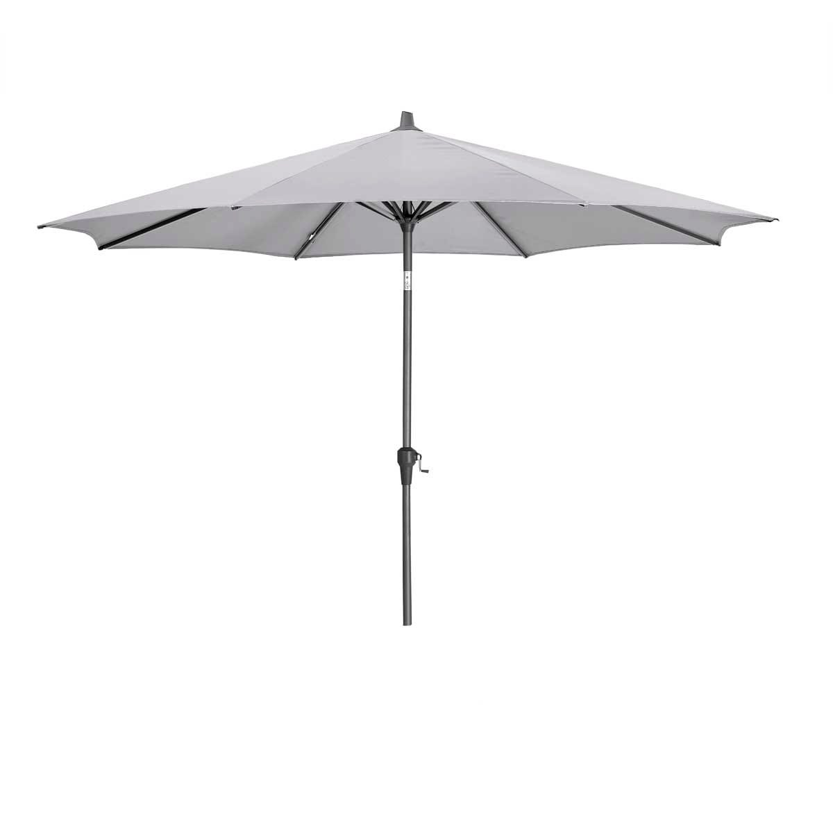 Platinum Riva 3m Round Parasol (base not included) - Light Grey