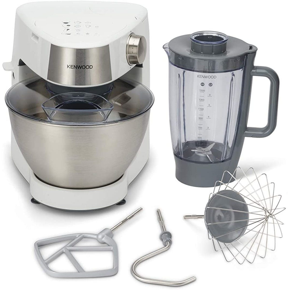 Kenwood KHC29 BOWH Prospero 4.3L 1000W Compact Stand Mixer - Silver