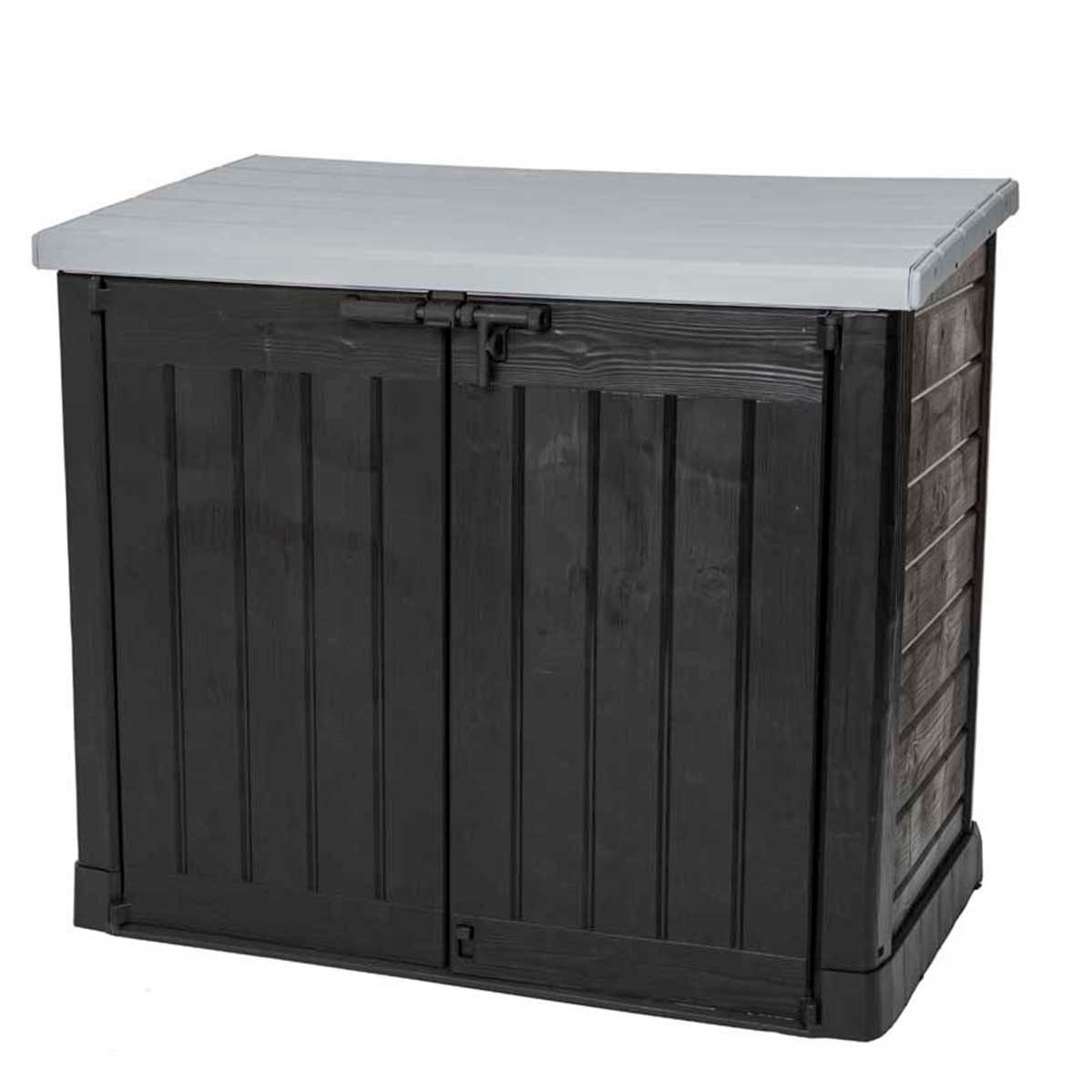 Keter Hideaway 1200L Storage Shed - Grey