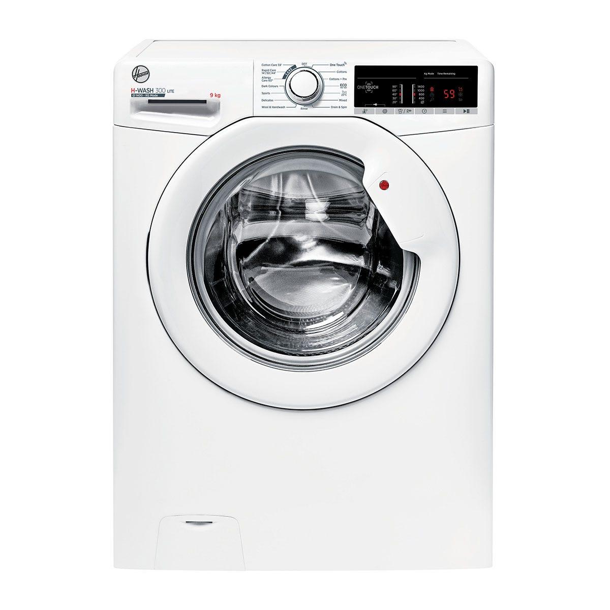 Hoover H3W49TE H-Wash 300 9kg 1400rpm Digital NFC-Enabled Washing Machine - White