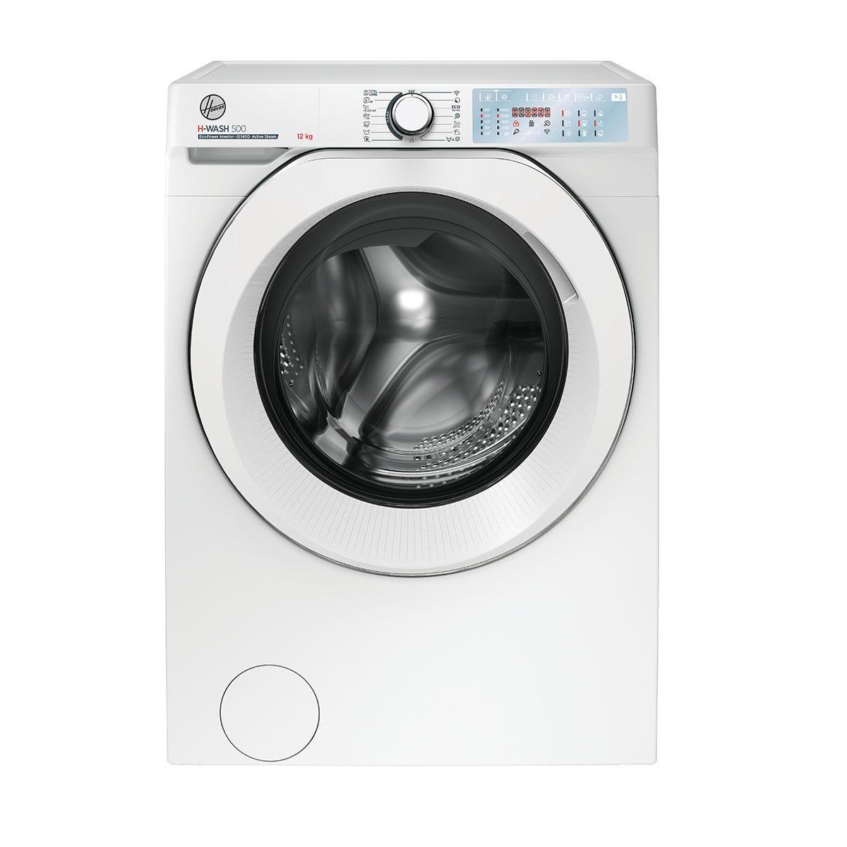 Hoover HWB412AMC H-Wash 500 12kg 1400rpm Digital WiFi Washing Machine - White