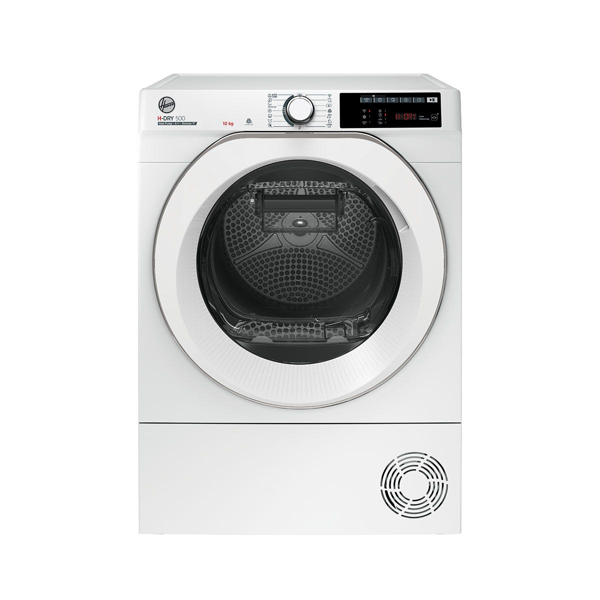 Hoover ND H10A2TCE H-Dry 500 Heat Pump 10Kg WiFi Tumble Dryer with Aquavision - White