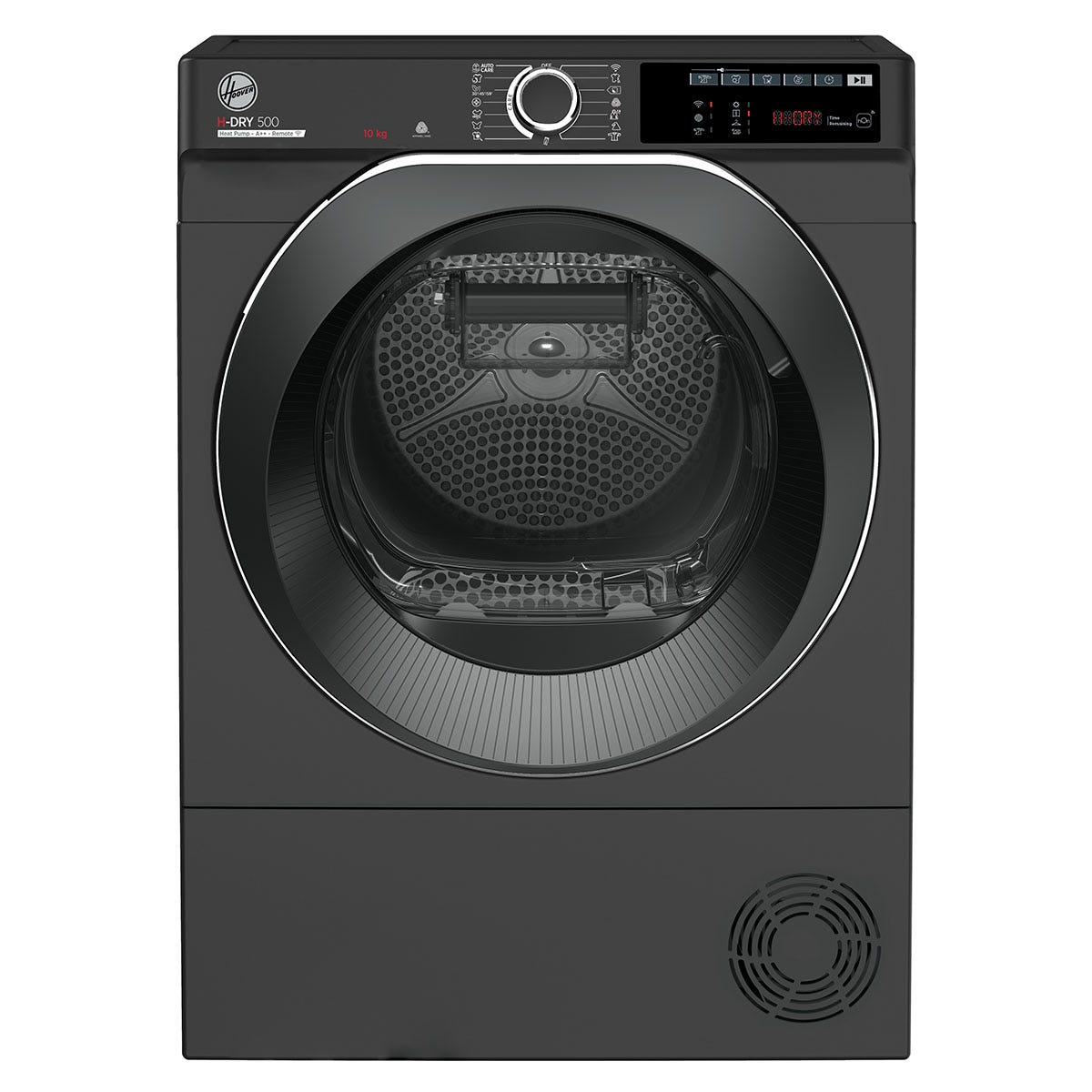 Hoover ND H10A2TCBER H-Dry 500 Heat Pump 10Kg WiFi Tumble Dryer with Aquavision - Graphite with Tinted Door