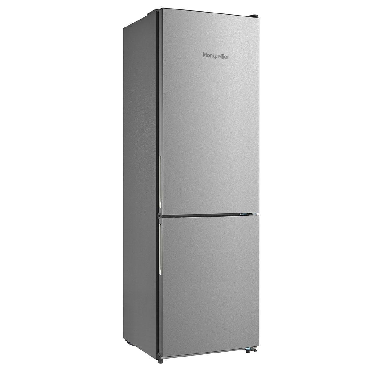 Montpellier MFF18860X 60cm Combi 60/40 Fridge Freezer - Inox