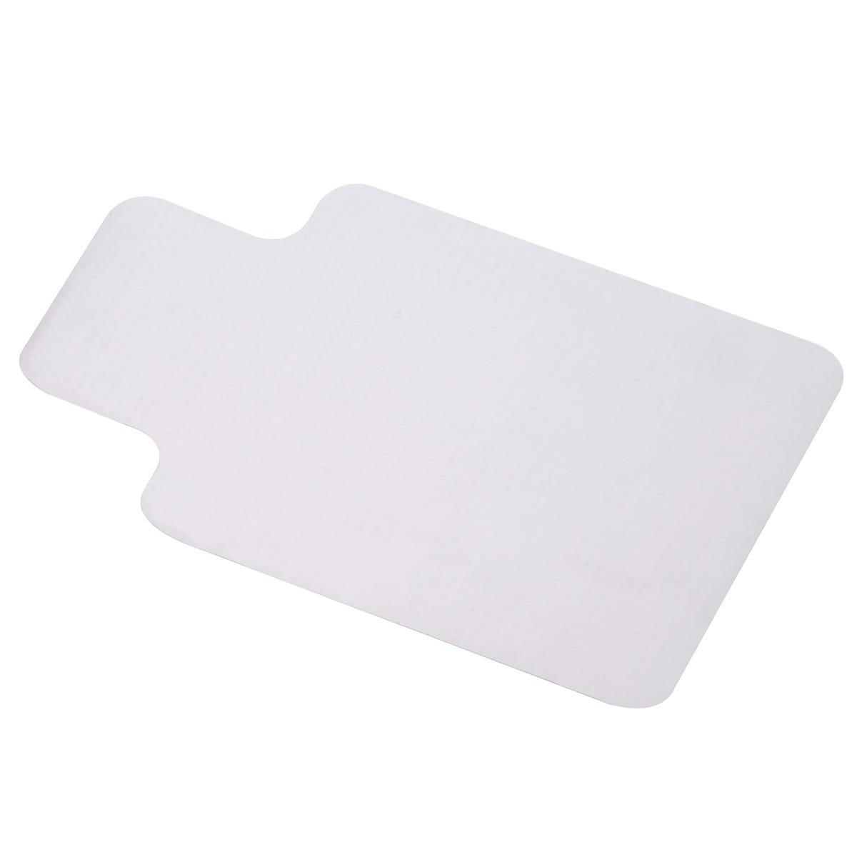 Clear PVC Office Chair Non-slip Mat for Carpet