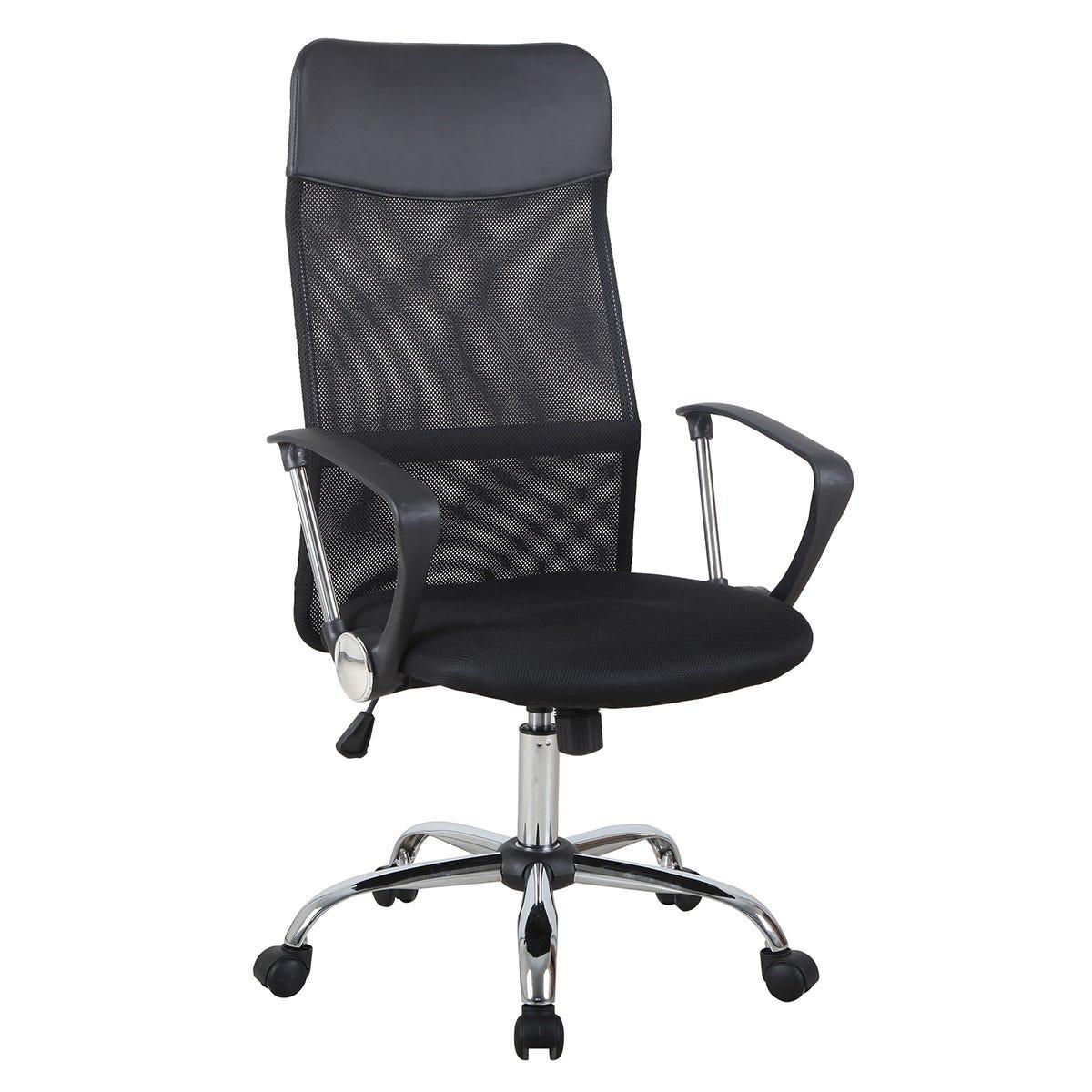 Zennor Osmo Mesh High Back Office Chair - Black