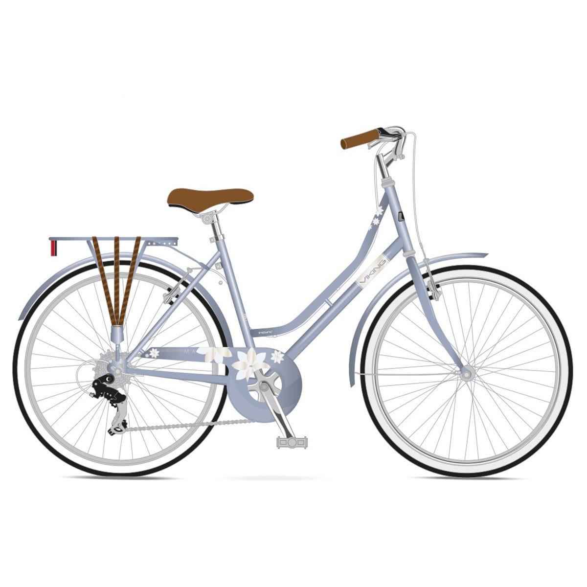Viking Paloma Ladies Traditional Dutch Bike 26