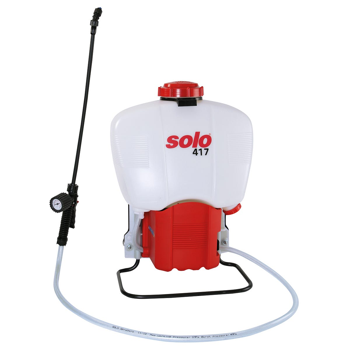 Solo 417 18 Litre Battery-Operated Backpack Sprayer