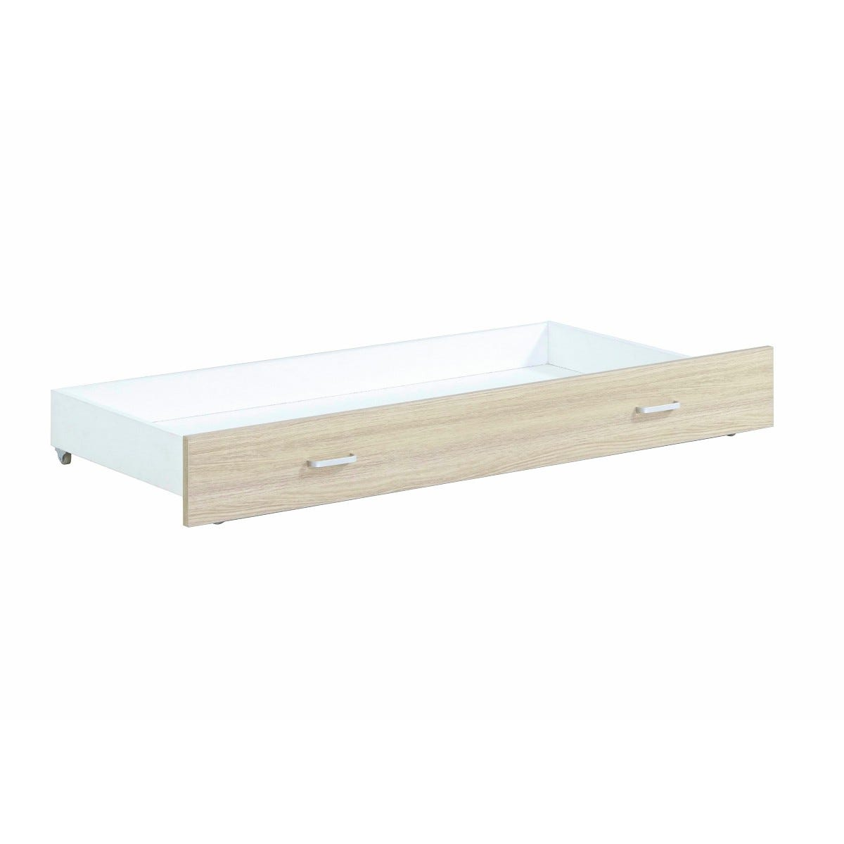 Babymore Drawer For Luno Veni Cot Bed Oak Effect