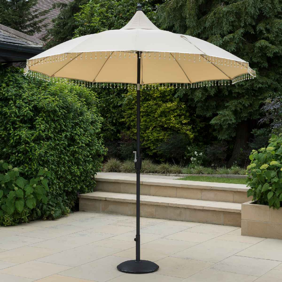 Garden Must Haves Carrousel 2.7m Parasol (base not included) - Cream