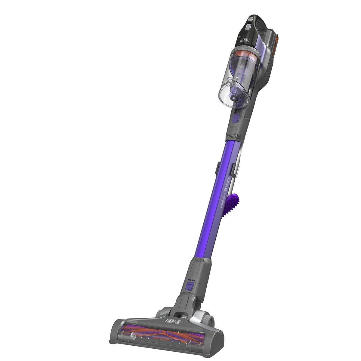 Black & Decker BHFEV182B-XJ PowerSeries Floor Extension Cordless Stick Vacuum Cleaner - Grey