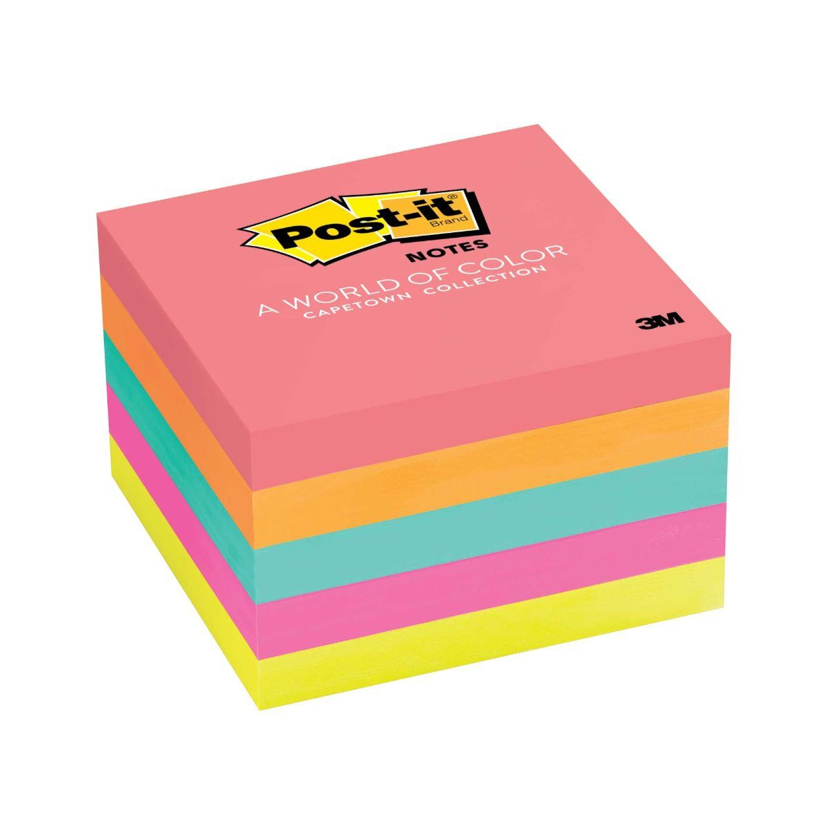 Post-it Super Sticky Notes 76x76mm - Pack of 5
