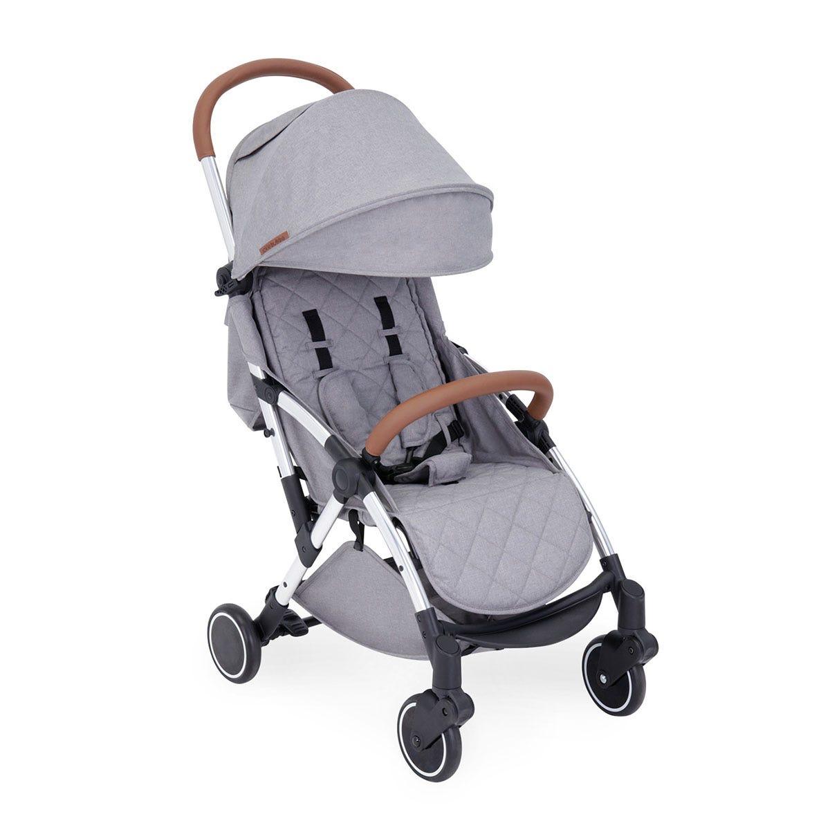 Ickle Bubba Globe Stroller - Grey on Silver